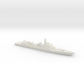 Type 052C Destroyer, 1/3000 in White Natural Versatile Plastic