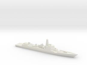 Type 052D Destroyer, 1/3000 in White Natural Versatile Plastic