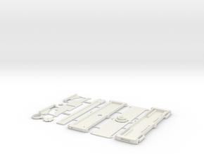 Dual-Action OTF Hidden Blade prop V2 in White Natural Versatile Plastic