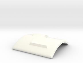 Pfeil nach links und nach oben in White Processed Versatile Plastic