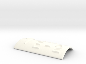 E-2 mit Pfeil nach oben in White Processed Versatile Plastic