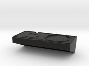 Turn Organizer Deluxe in Black Natural Versatile Plastic