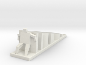 Hodor Doorstop in White Natural Versatile Plastic