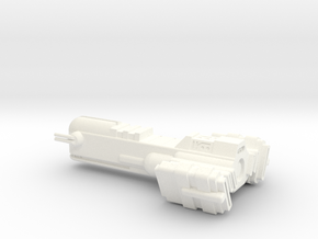 Blockade Runner Large in White Processed Versatile Plastic