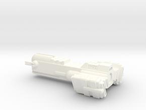 Blockade Runner Large in White Processed Versatile Plastic