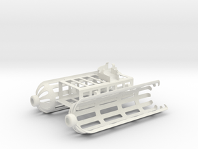 DJI Phantom 4 ocean rescue attachment in White Strong & Flexible