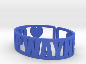 Camp Wayne Cuff in Blue Processed Versatile Plastic