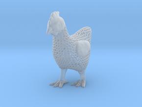 Voronoi Chicken  in Smooth Fine Detail Plastic
