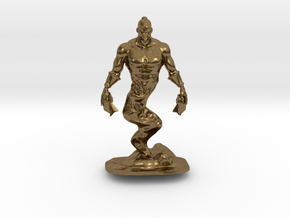 Djinn Genie Miniature in Natural Bronze