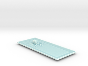 Octo Sushi Plate. in Gloss Celadon Green Porcelain