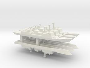 Chungmugong Yi Sun-sin-class x 6, 1/3000 in White Natural Versatile Plastic