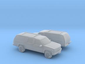 1/160 2X 1999 Chevrolet Suburban in Smooth Fine Detail Plastic