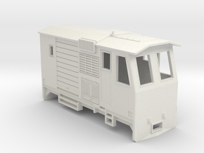 HOn30 Control Car (Kate 3F) in White Natural Versatile Plastic