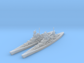 Scharnhorst and Gneisenau 1/4800 in Frosted Ultra Detail