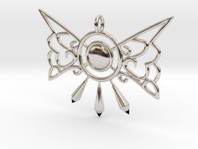 Elfin Charm in Rhodium Plated Brass