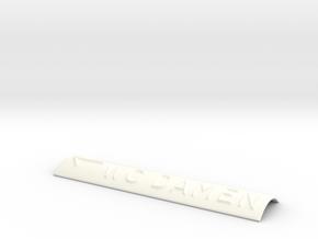 WC DAMEN mit Pfeil nach links in White Processed Versatile Plastic