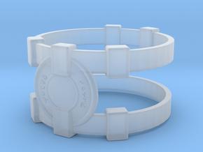 Brainy Bracer ver.1 in Smooth Fine Detail Plastic
