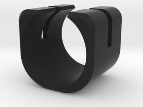 Anello C in Black Natural Versatile Plastic