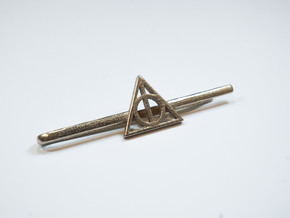 Harry Potter: Deathly Hallows Tie Clip in Stainless Steel