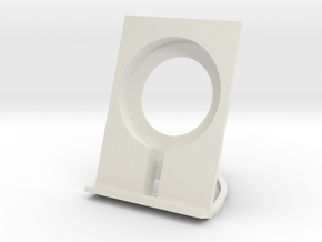 Qi Wireless Charging Stand in White Natural Versatile Plastic
