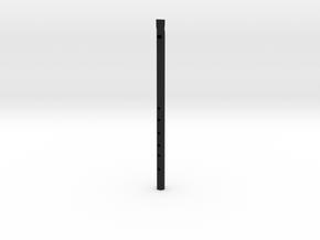 D Tin whistle in Black Natural Versatile Plastic