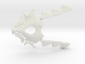 NeoNordic Bone necklace  in White Natural Versatile Plastic