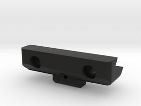 ErgoGrip retainer in Black Natural Versatile Plastic