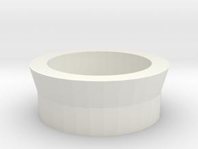 Neopixel Tactile Button - Back in White Natural Versatile Plastic