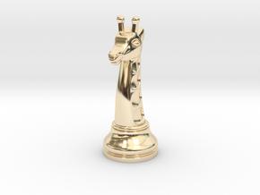 12Giraffe Small Single in 14K Yellow Gold