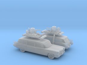 1/160 2X 1959 Cadillac Station Wagon with Roof Rac in Smooth Fine Detail Plastic