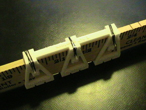 "TrackToolz 1 1/2"" Track Spacing Jigs in White Strong & Flexible"