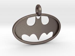 Classic Batman Keychain in Stainless Steel