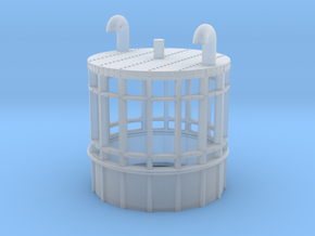 1/144 Lantern, Type 271 & 273 Radar (Round Type) in Smooth Fine Detail Plastic