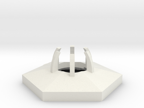 project: uranium hexagon body in White Strong & Flexible