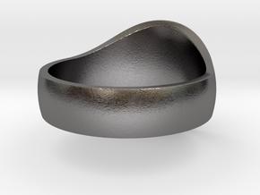 DW Signet Ring 12 in Polished Nickel Steel