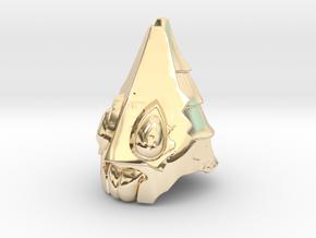 Usurper Helmet I in 14K Yellow Gold