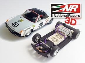 3D chassis - SRC Porsche 914/6 GT (SW/Inline) in Black Natural Versatile Plastic