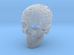 Mini Skull v2 - 25mm in Smoothest Fine Detail Plastic