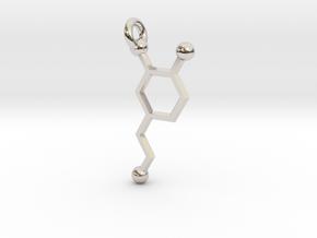 Dopamine in Rhodium Plated Brass