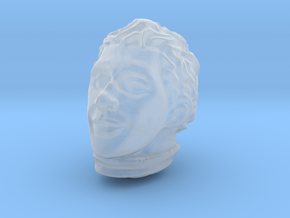 1/12 Ayrton Senna Head Sculpt in Smooth Fine Detail Plastic