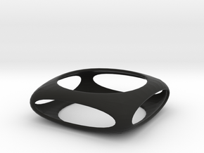 Bangle Box (size XS) in Black Natural Versatile Plastic