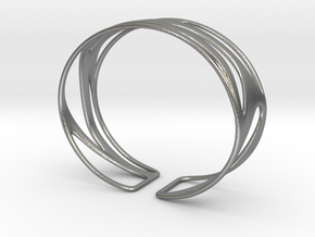 Inspired Curves (size XS) in Natural Silver