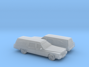 1/160 2X 1985-89 Cadillac Hearse in Frosted Ultra Detail