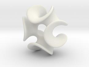Enneperv3azsmall in White Natural Versatile Plastic