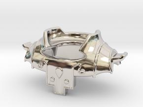 Usurper Shoulder Piece in Platinum
