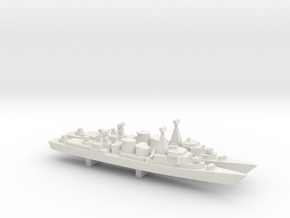 Jacob van Heemskerck-class frigate x 2, 1/1800 in White Natural Versatile Plastic