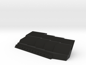 Basic Armada Ship Tray in Black Natural Versatile Plastic