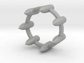 BULLET RING in Aluminum