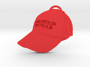 Triumph Cap in Red Processed Versatile Plastic