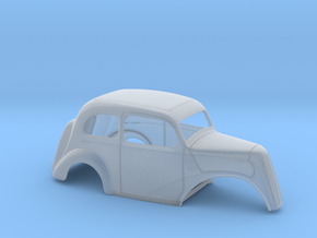 1/43 1949 Anglia No Fr Fenders in Smooth Fine Detail Plastic